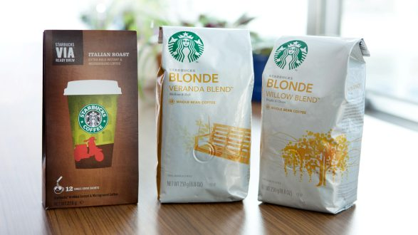 Starbucks Coffees By Form
